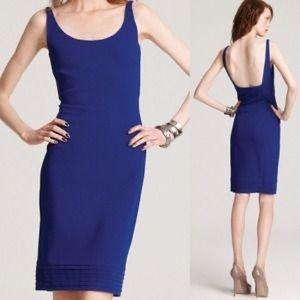 Diane Von Furstenberg Dresses - DVF Blue Bodycon Dress.
